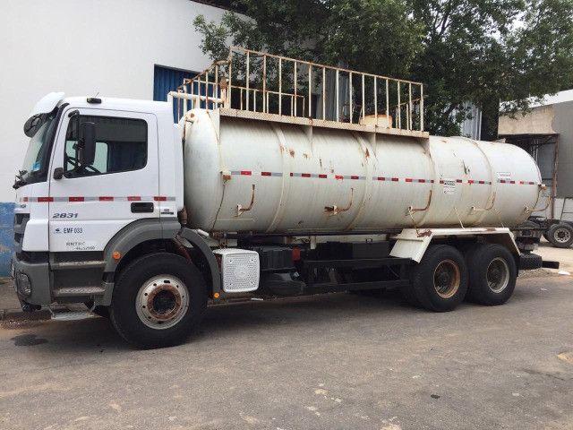 Tanque 20 mil litros - Caminhão pipa - Foto 3