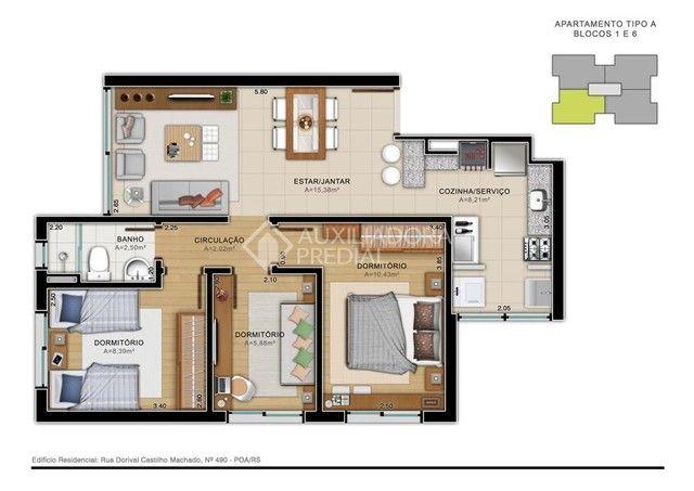 Apartamento à venda com 2 dormitórios em Aberta dos morros, Porto alegre cod:312441 - Foto 16