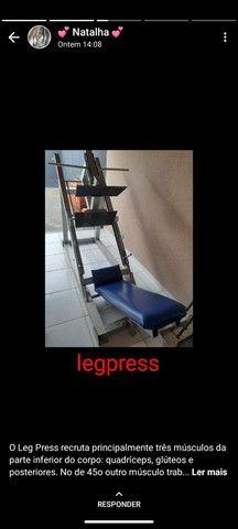 Cadeira extensora + leg espress - Foto 2