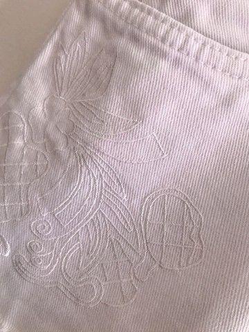 Short jeans branco - Foto 4