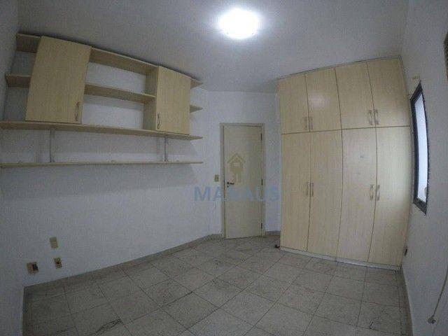 Apartamento com 4 dormitórios para alugar, 186 m² por R$ 3.900/mês - Adrianópolis - Manaus - Foto 15