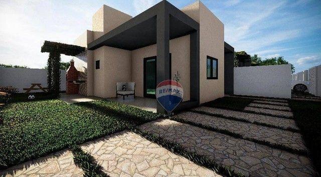 Excelente casa de esquina e ótimo acabamento - Village Jacumã - Conde/PB