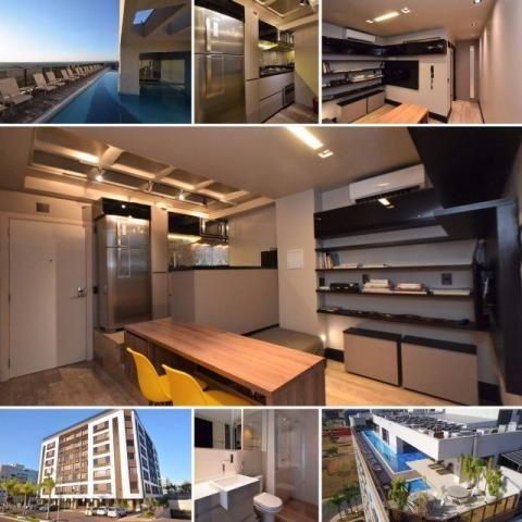 Apartamento de revista c/ cobertura coletiva - Via Soho