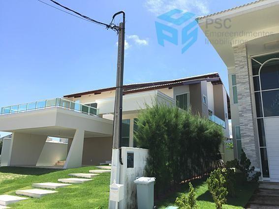 Casa duplex, alto padrão, à venda, Alphaville Fortaleza,Eusébio - CA0102-PSC
