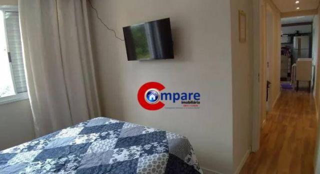 Apartamento com 2 dormitórios à venda, 44 m² por r$ 265.000 - vila rio de janeiro - guarul - Foto 7