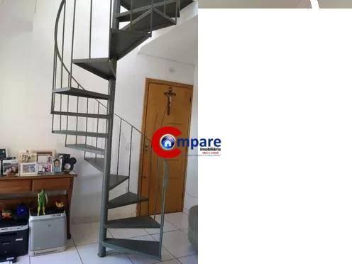 Cobertura com 2 dormitórios à venda, 77 m² - Bonsucesso - Guarulhos/SP - Foto 3