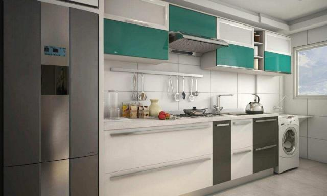 Apartamento com 2 dormitórios à venda, 58 m² por R$ 299.700,00 - Canto do Forte - Praia Gr