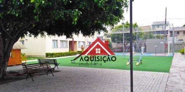 Apartamento com 3 dormitórios à venda, 54 m² por r$ 210.000,00 - capão raso - curitiba/pr - Foto 11