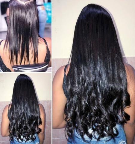 Colocao de Mega Hair com elastex - Foto 3