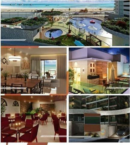 Frente ao mar espetacular 02 e 03 quartos com 03 suites e Coberturas Praia dos Anjos - Foto 5