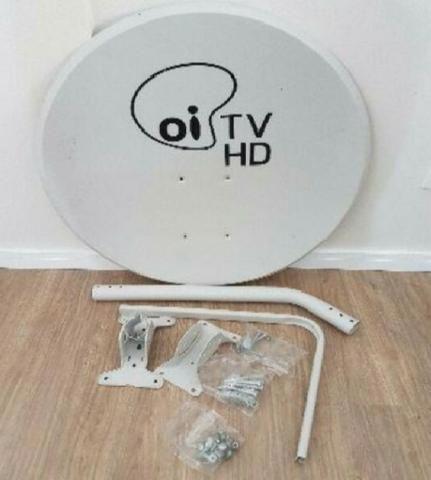 2 Antena Banda Ku 60cm + 2 Lnbf Duplo Incluso - Foto 5