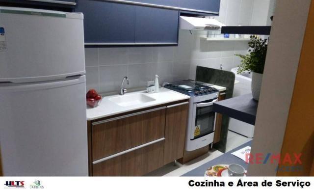 Apartamento com 2 dormitórios à venda, 45 m² por R$ 122.590,00 - Shopping Park - Uberlândi - Foto 15