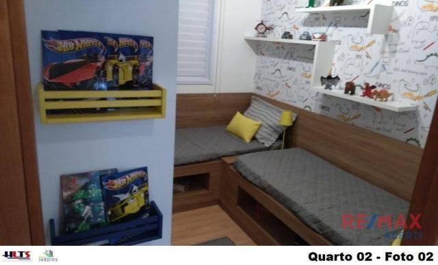Apartamento com 2 dormitórios à venda, 45 m² por R$ 122.590,00 - Shopping Park - Uberlândi - Foto 12