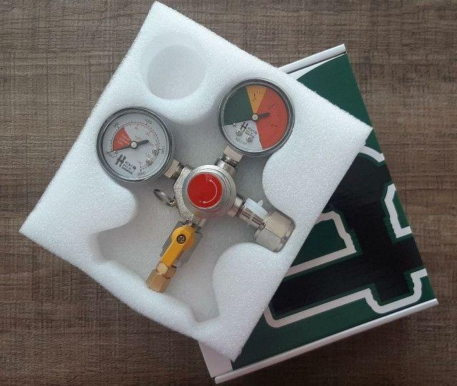 Regulador de Pressão Co2 - 1 Via ( Chopp, Aquário)