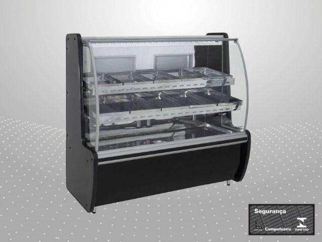 Expositor Açougue Avícola com Vidro Semi Curvo - 2,00m Polo Frio - Foto 3