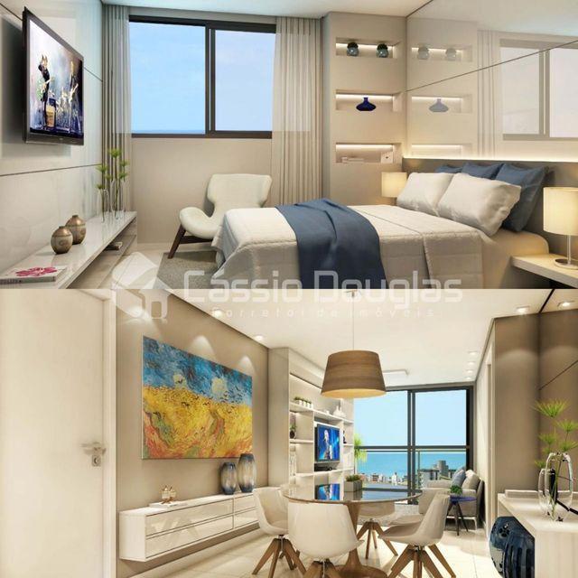 (Em construção) Apartamento 2 quartos no Bessa, com área de lazer e elevador - Foto 7