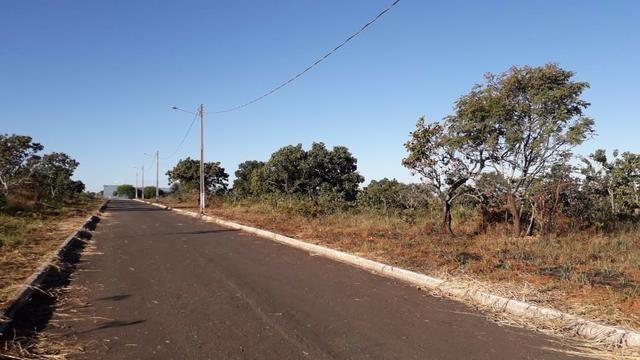 Lote em Caldas Novas de 1000 metros no asfalto, quitado e escriturado, pego caminhonete - Foto 2