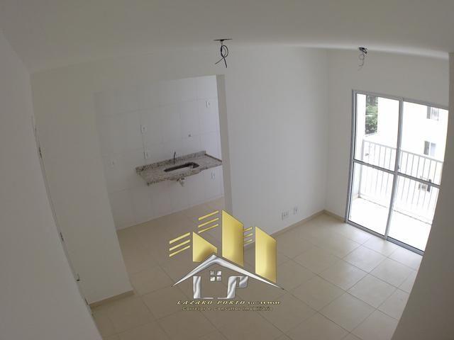 Laz- Alugo apartamento condomínio Enseada Jacaraipe (01) - Foto 2