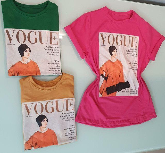 T-shirts 100% algodão. Preço único 19,99 - Foto 5