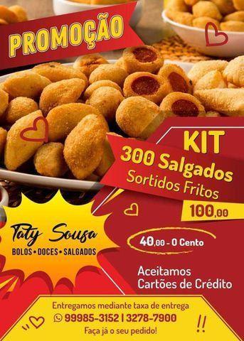 Salgadinhos fritos sortidos,promoção 300 unidades R$100,00 - Foto 3