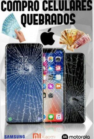 Pago 100 reais no celular quebrado