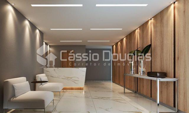 (Em construção) Apartamento 2 quartos no Bessa, com área de lazer e elevador - Foto 5
