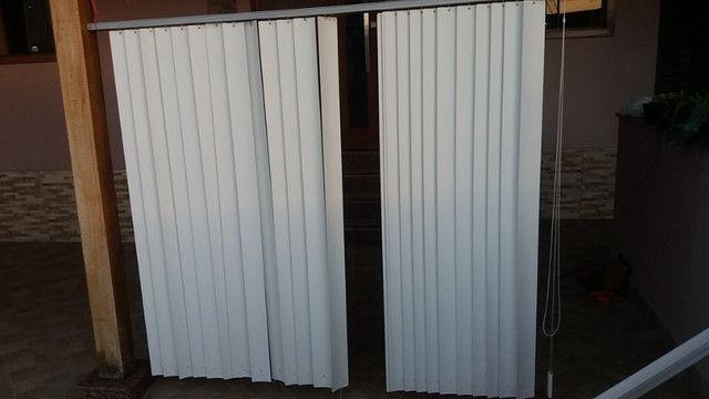 Vendo 3 cortinas tipo persianas - Foto 3