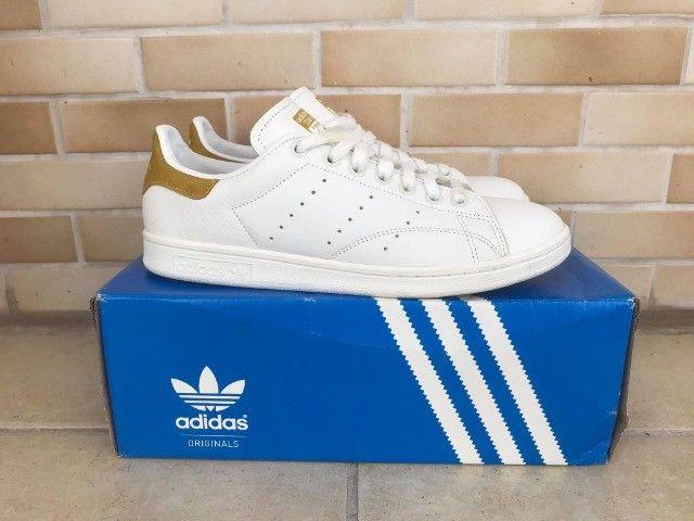 Tênis Adidas Originals Stan Smith - Tam. 38 - Foto 3