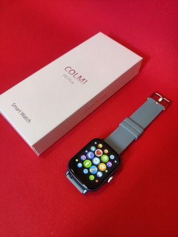 Lançamento Relógio/Smartwatch Colmi P8 Plus > Cor Disponivel: Rosa / Azul / Dourado - Foto 3