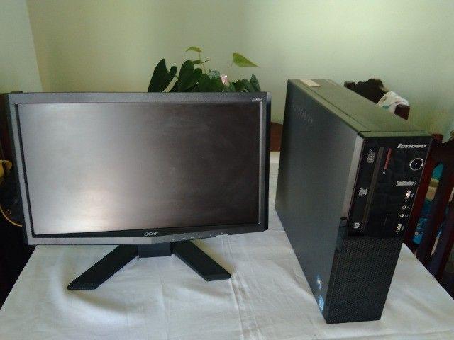CPU Desktop Lenovo Edge 71 Core i3 2 Geração 4Gb Ram HD 500Gb - Foto 2