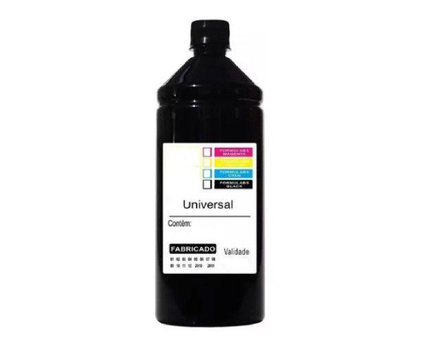 100 ml de tinta preta black L4150 L355 L395 L375 L6161 L6171 L6191