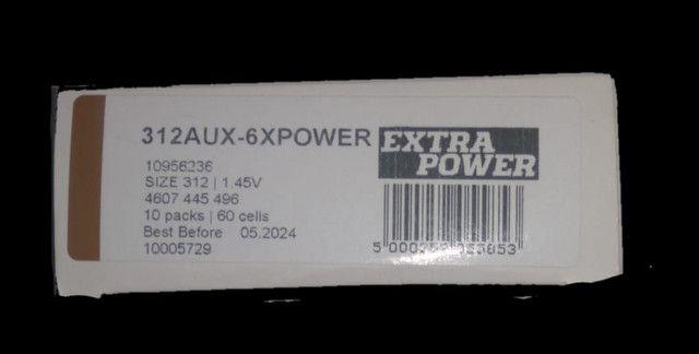60 células de baterias pra aparelhos auditivos  - Foto 3