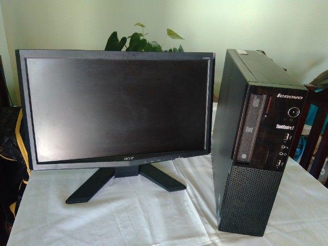 CPU Desktop Lenovo Edge 71 Core i3 2 Geração 4Gb Ram HD 500Gb - Foto 3