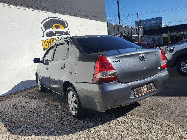Etios xs sedan 1.5 gnv 100% financiado pelos bancos - Foto 6