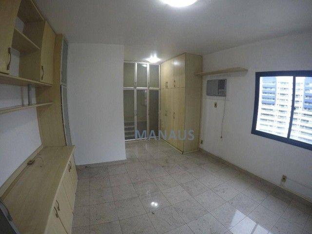 Apartamento com 4 dormitórios para alugar, 186 m² por R$ 3.900/mês - Adrianópolis - Manaus - Foto 20