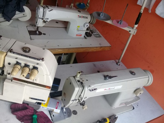 Máquinas de costura industriais  - Foto 3