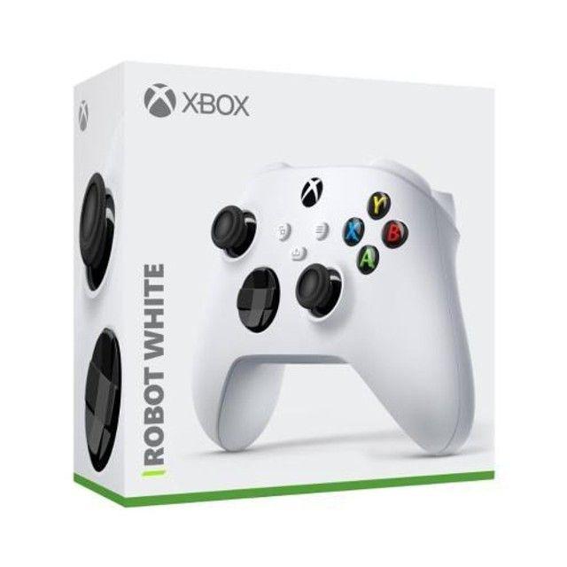 Controle Sem Fio Xbox Series Robot White - Novo, Original e Lacrado - Foto 3