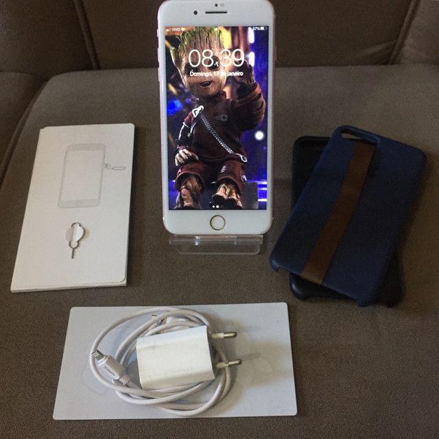 IPhone 7 Plus 32GB Gold Rose  - Foto 2
