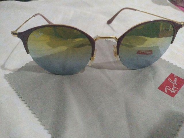 Óculos Rayban original espelhado - Foto 2