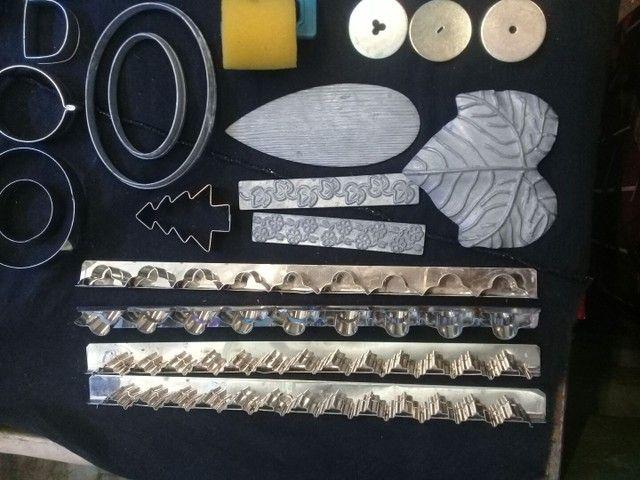 Artesanatos trabalhos em Biscuit - Produto usado.180.00 - Foto 5