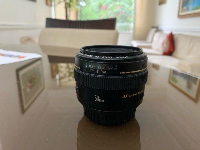 Lente canon 50 mm f 1.4 - Foto 2