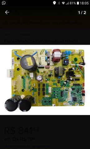 Placa eletrônica condensadora Hitachi