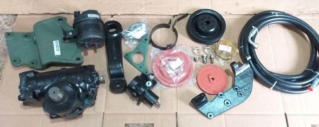 Kit de Direção Hidráulica Caminhão MB 1113 Envio Imediato  - Foto 3