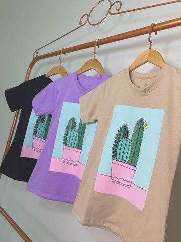 Blusas femininas ( T-shirt )  - Foto 6