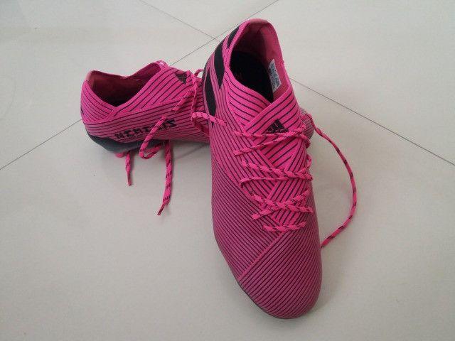 Chuteira Adidas Nemezis Profissional 19.1 Nova Sem Uso