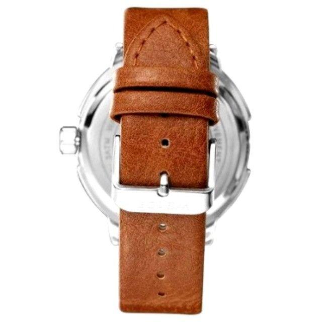 Relógio Masculino Marca: Weide WD004, Novo analógico Quartz - Foto 3