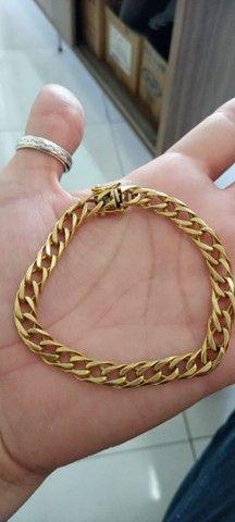 Pulseira de Ouro 24.8 gramas - Foto 2