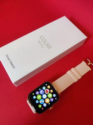 Lançamento Relógio/Smartwatch Colmi P8 Plus > Cor Disponivel: Rosa / Azul / Dourado - Foto 5