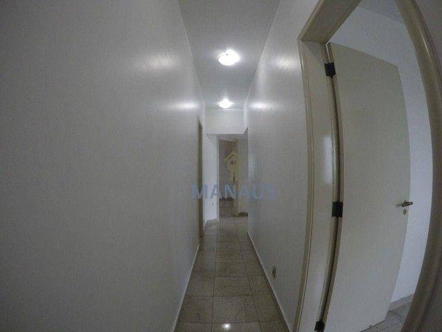 Apartamento com 4 dormitórios para alugar, 186 m² por R$ 3.900/mês - Adrianópolis - Manaus - Foto 8