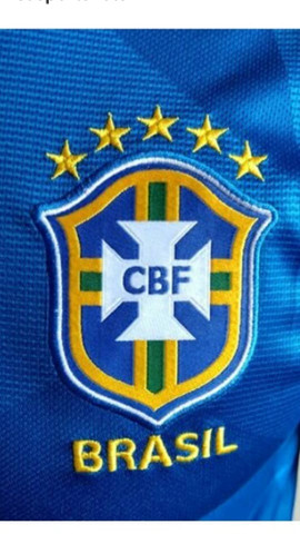 Camisa nike brasil m e g na etiqueta - Foto 2